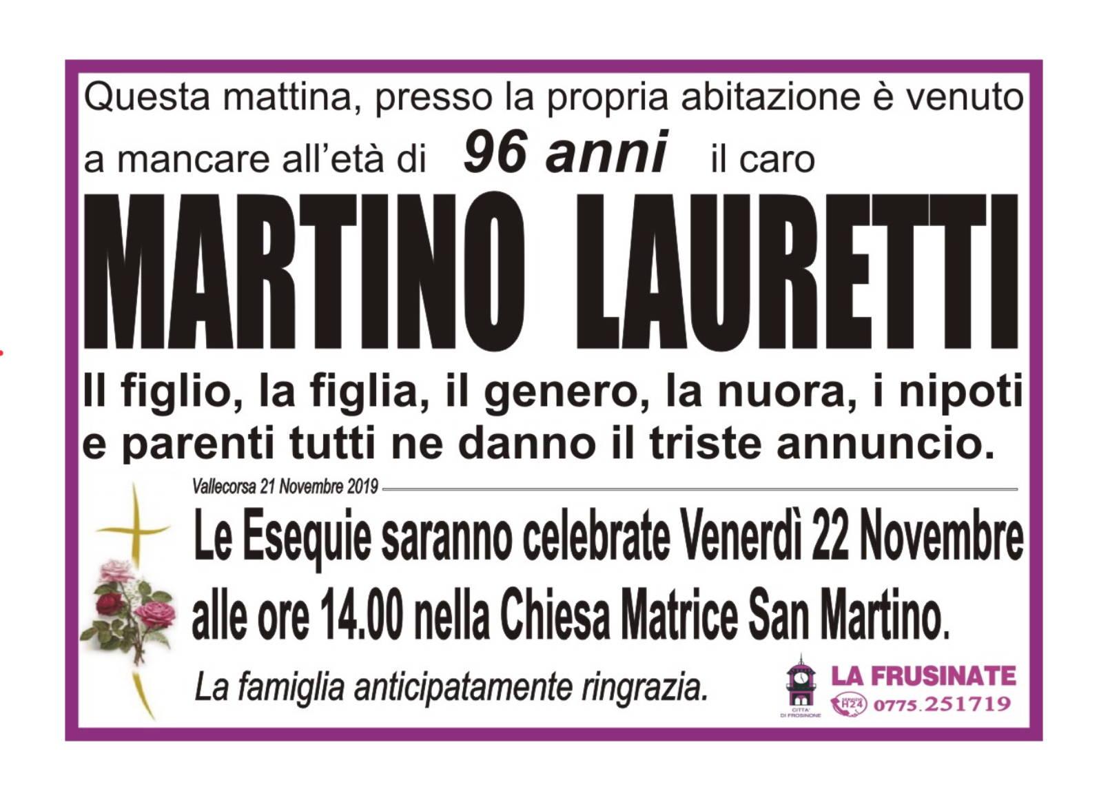 Martino Lauretti