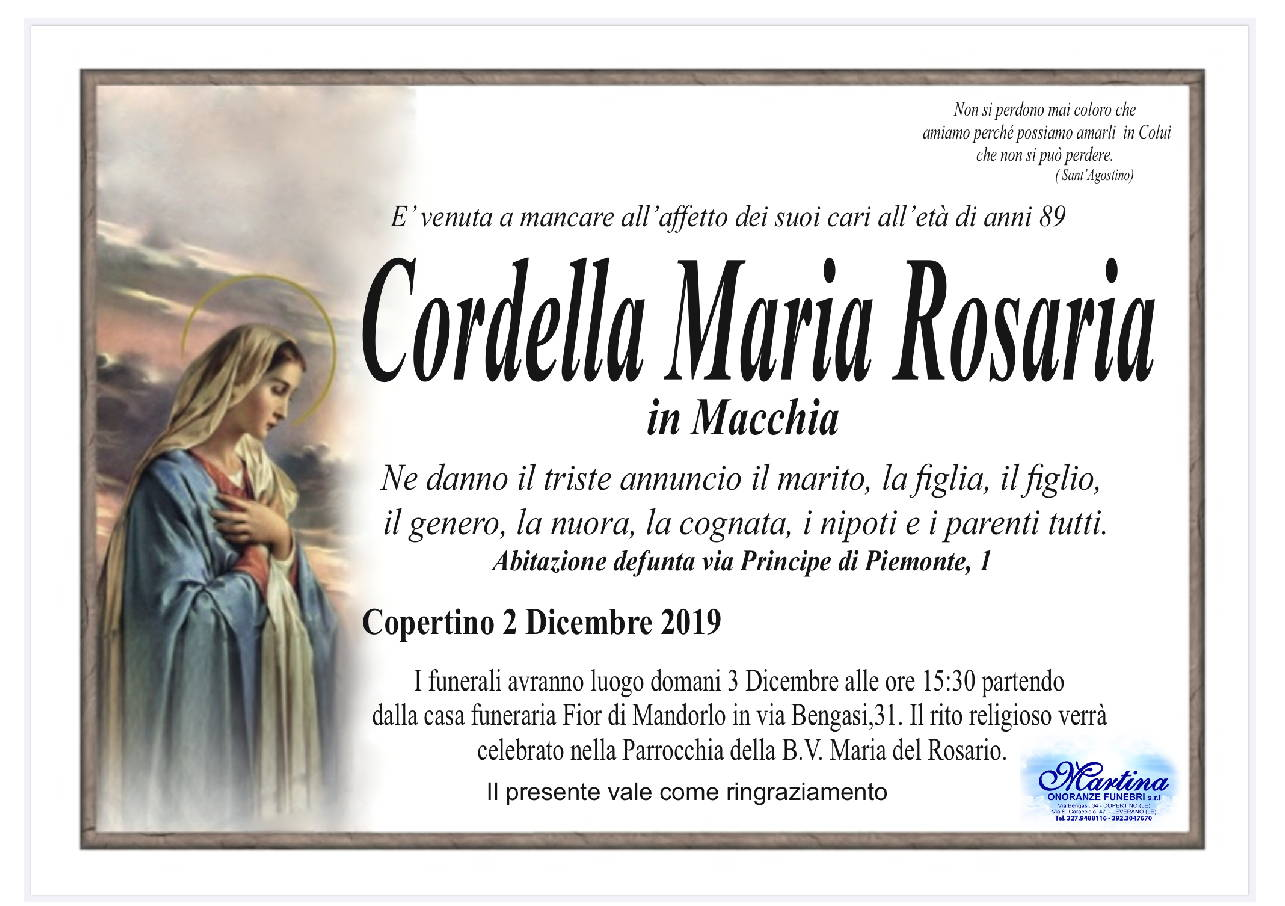 Maria Rosaria Cordella