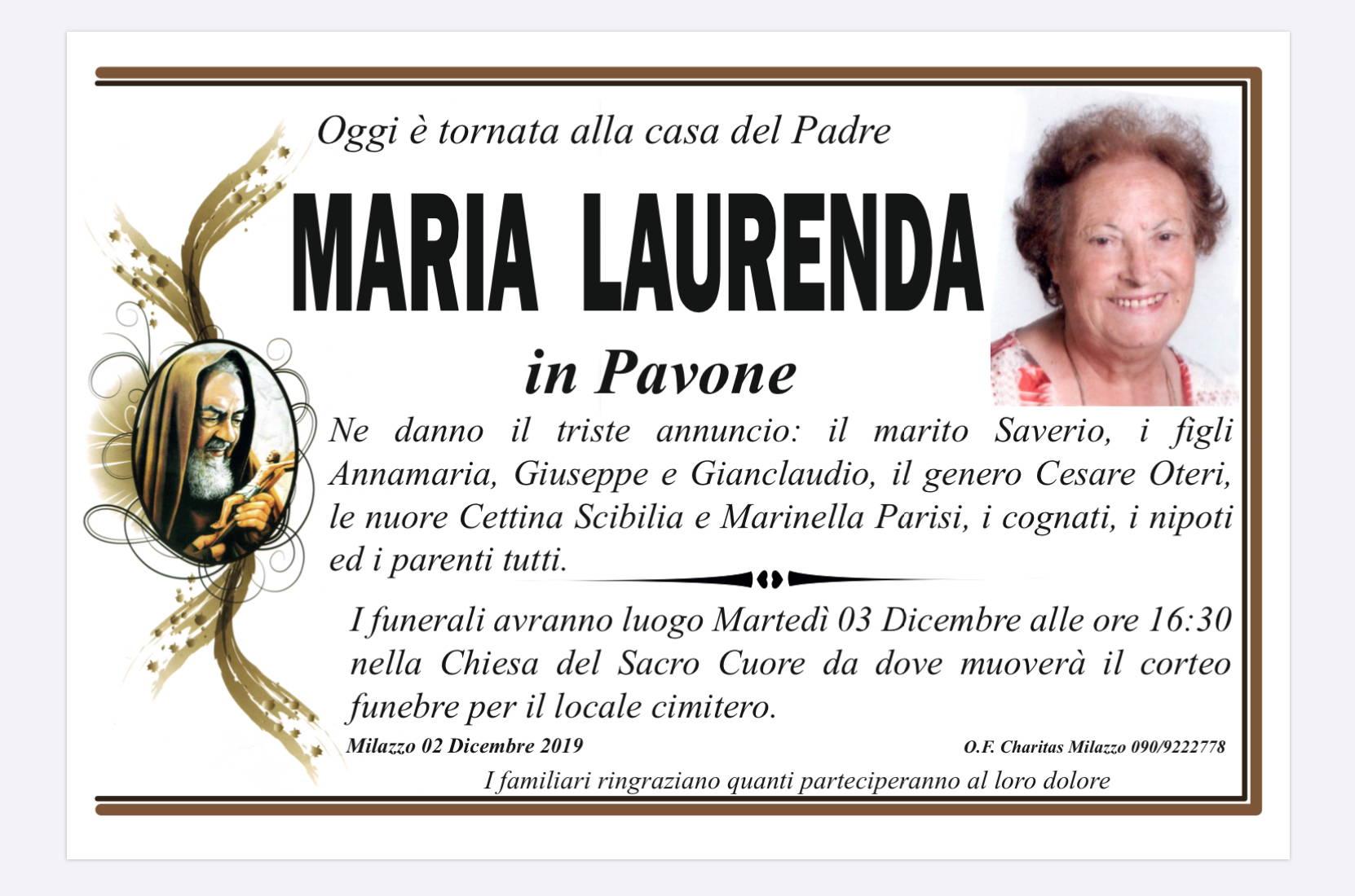 Maria Laurenda