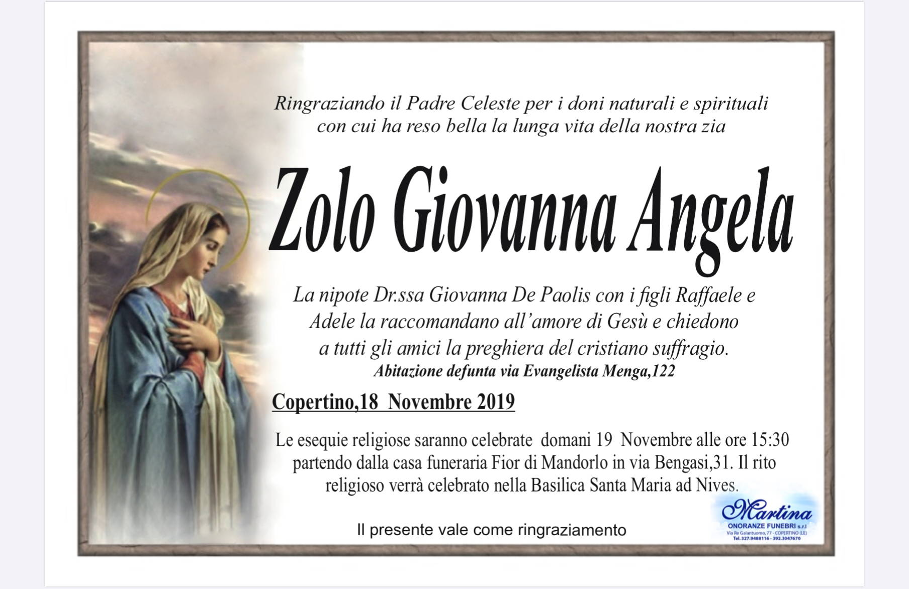 Giovanna Angela Zolo