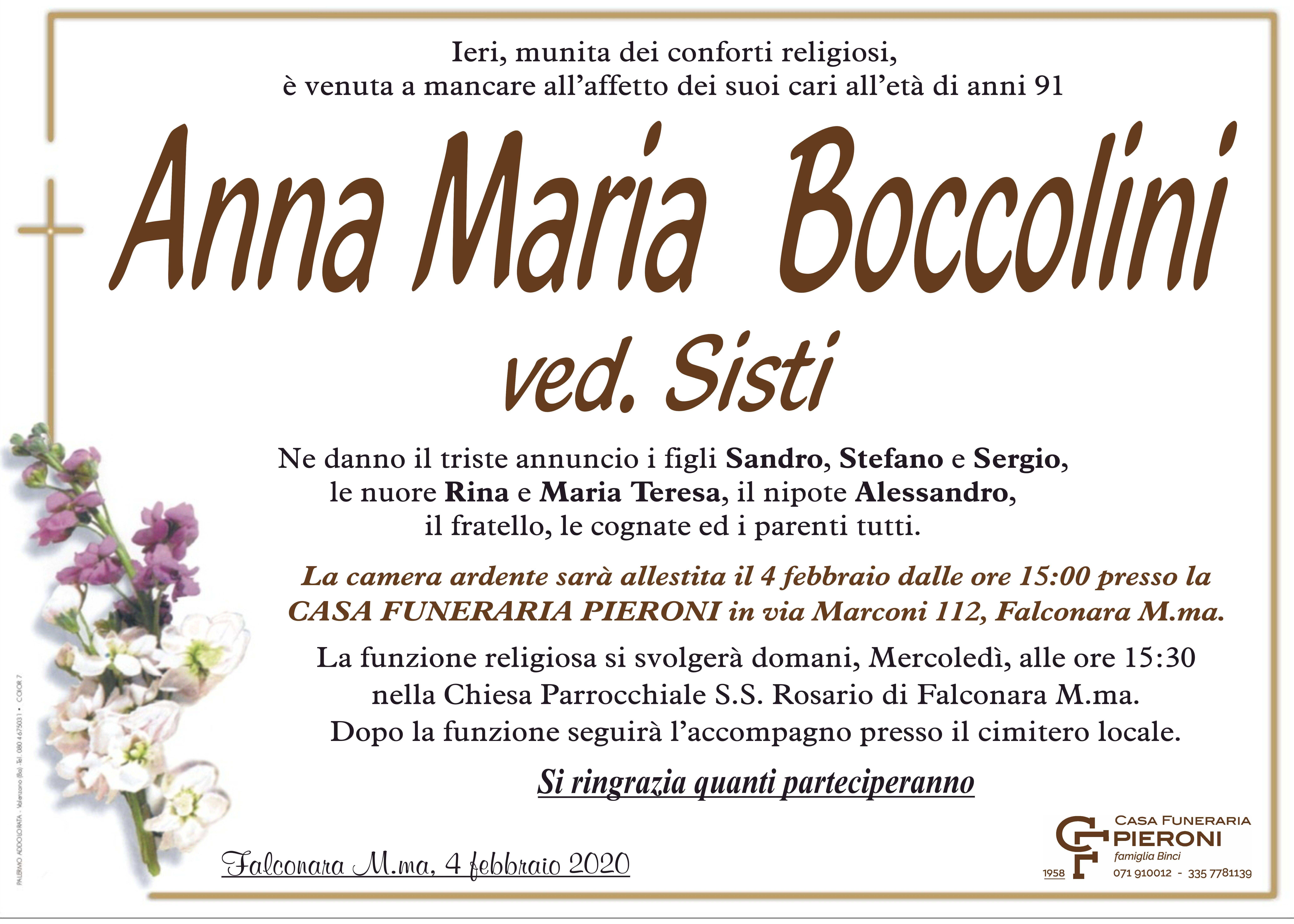 Anna Maria Boccolini