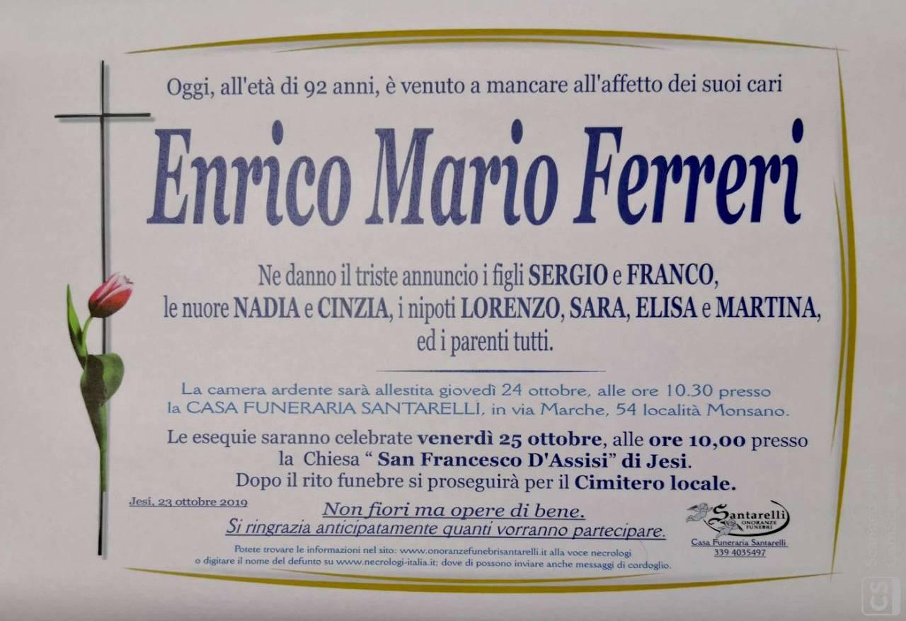 Enrico Mario Ferreri