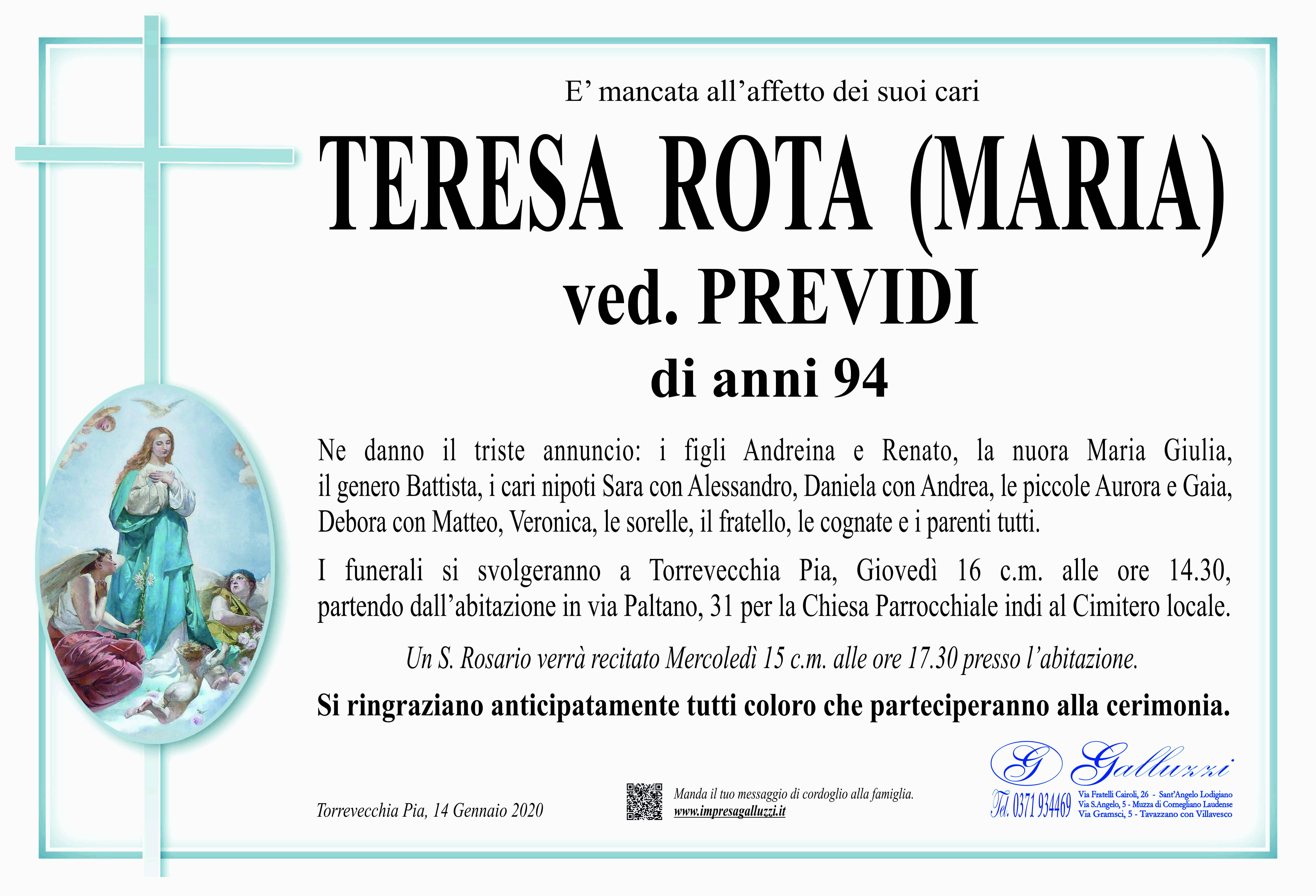 Teresa Rota