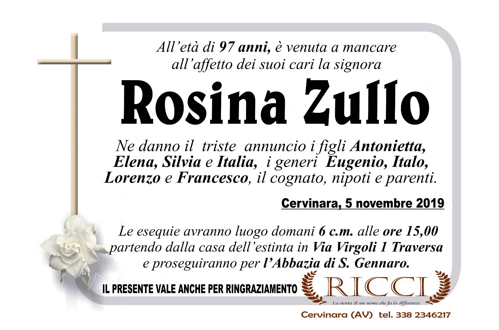 Rosina Zullo
