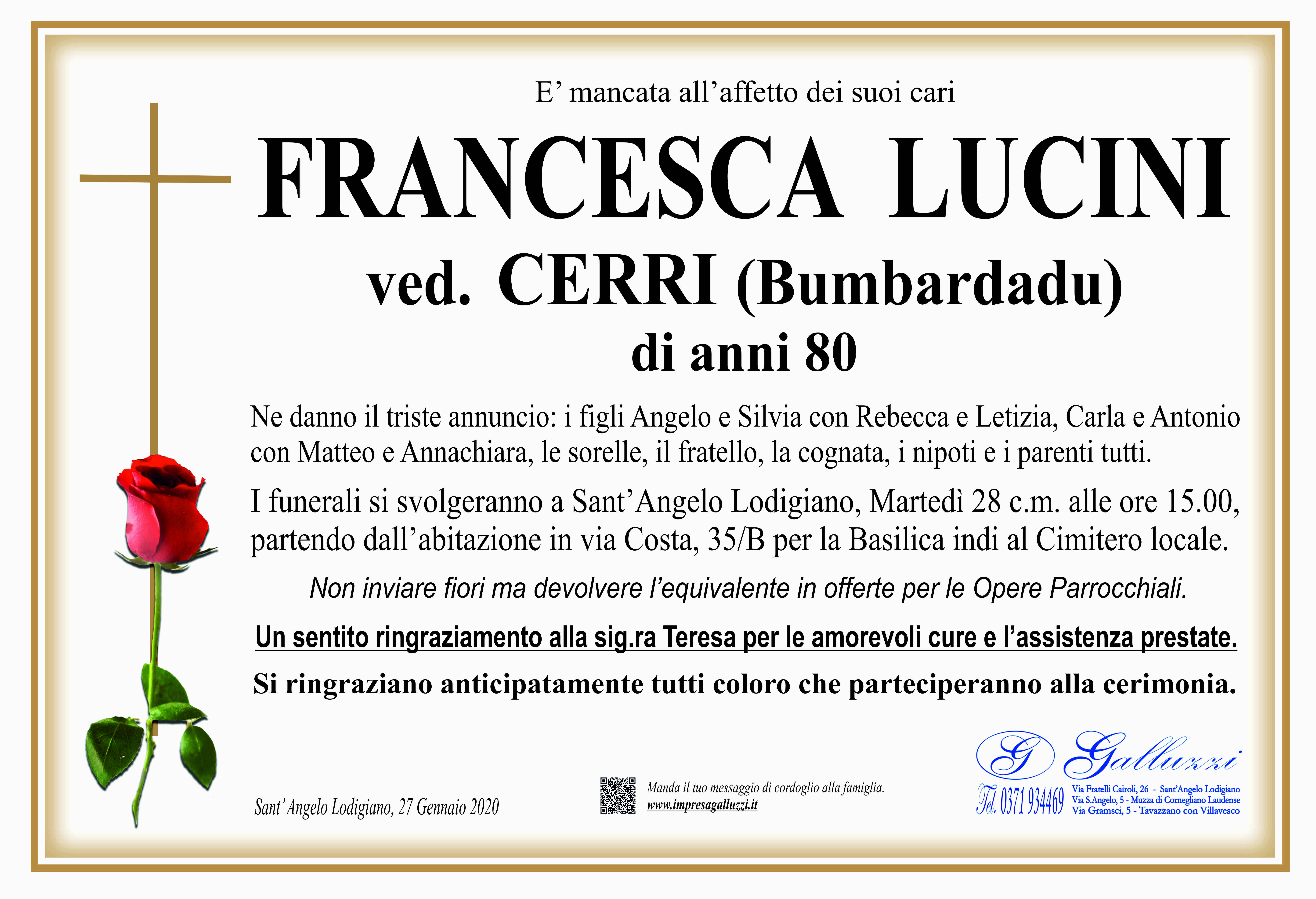 Francesca Lucini