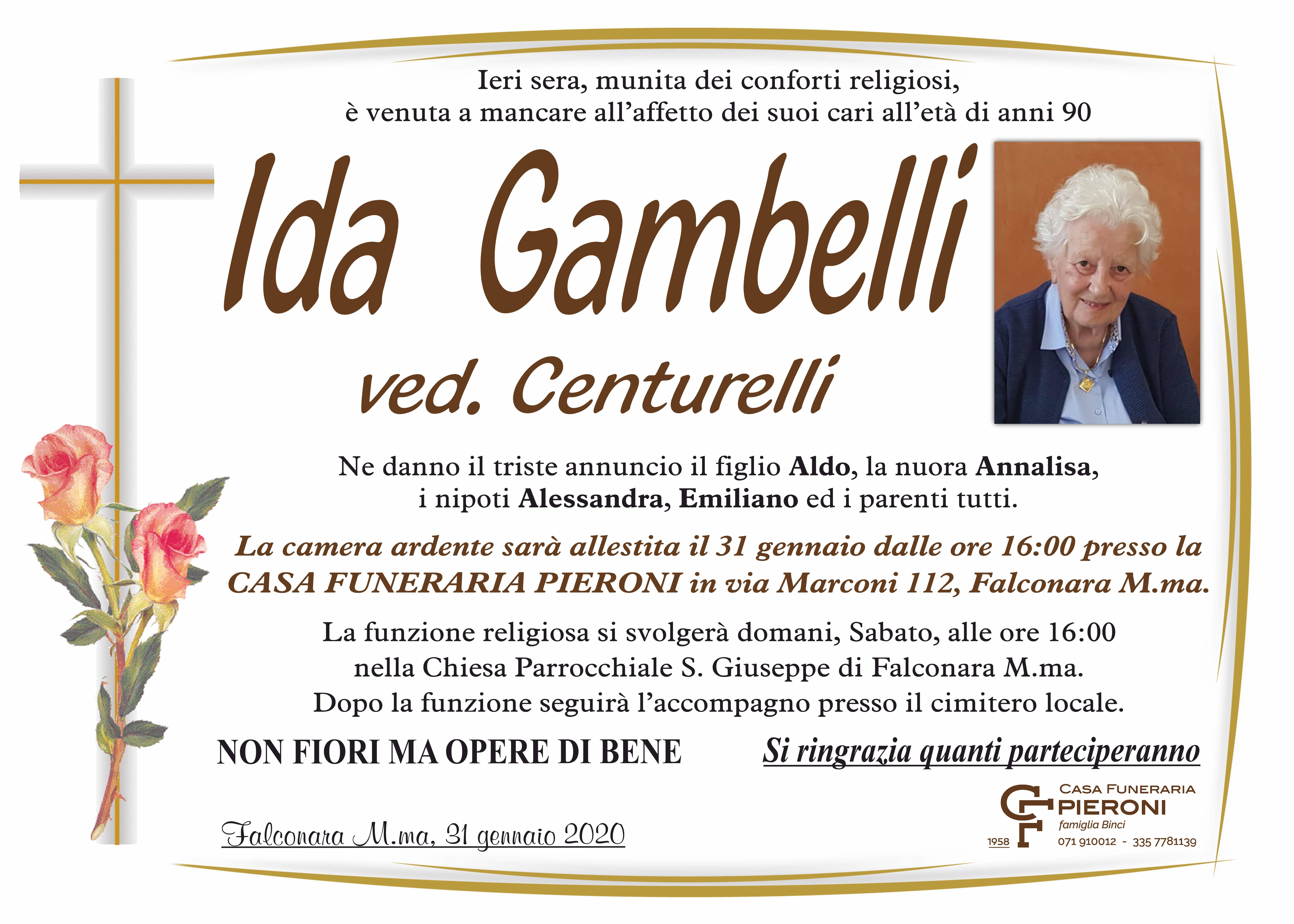Ida Gambelli