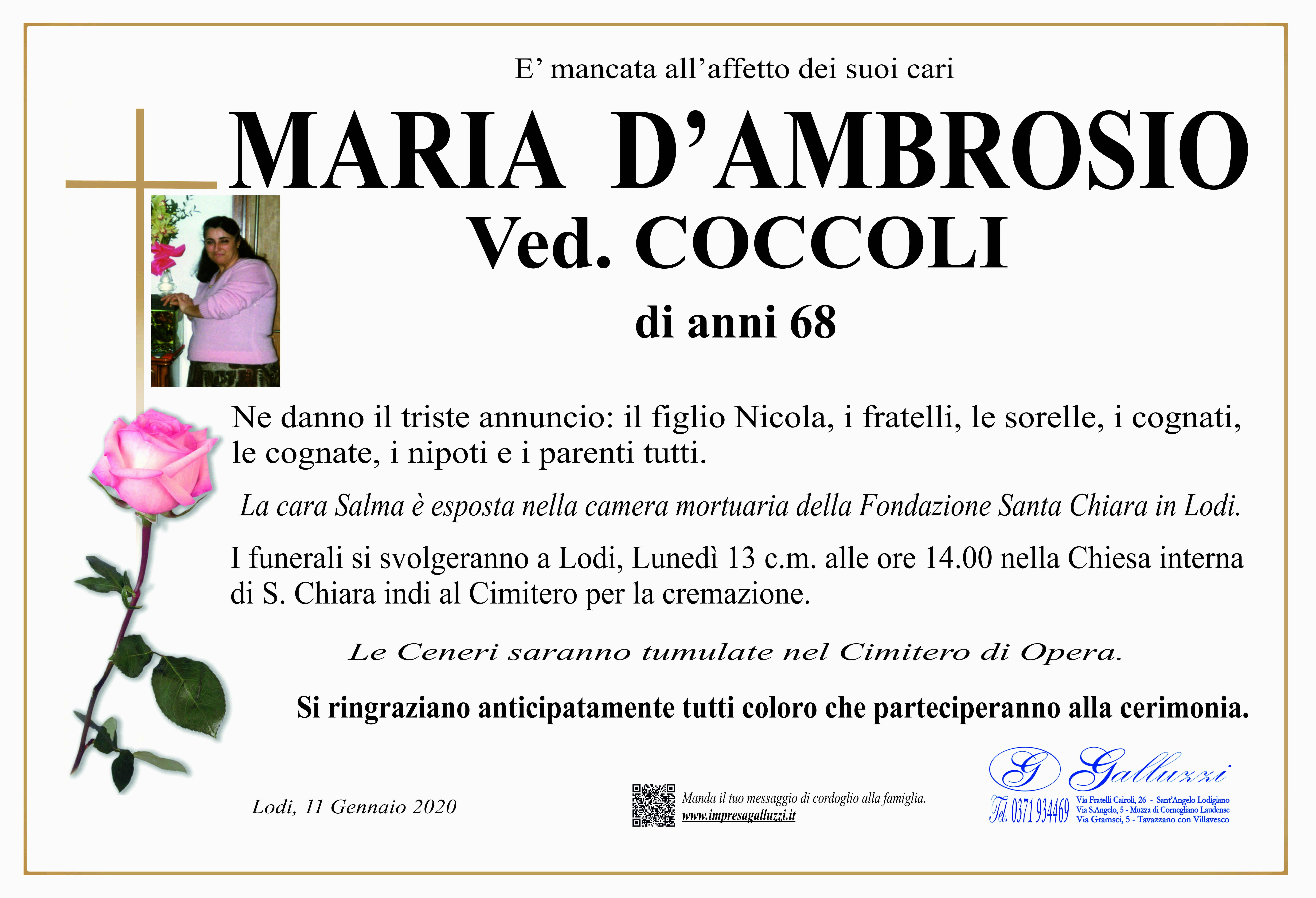 Maria D'Ambrosio