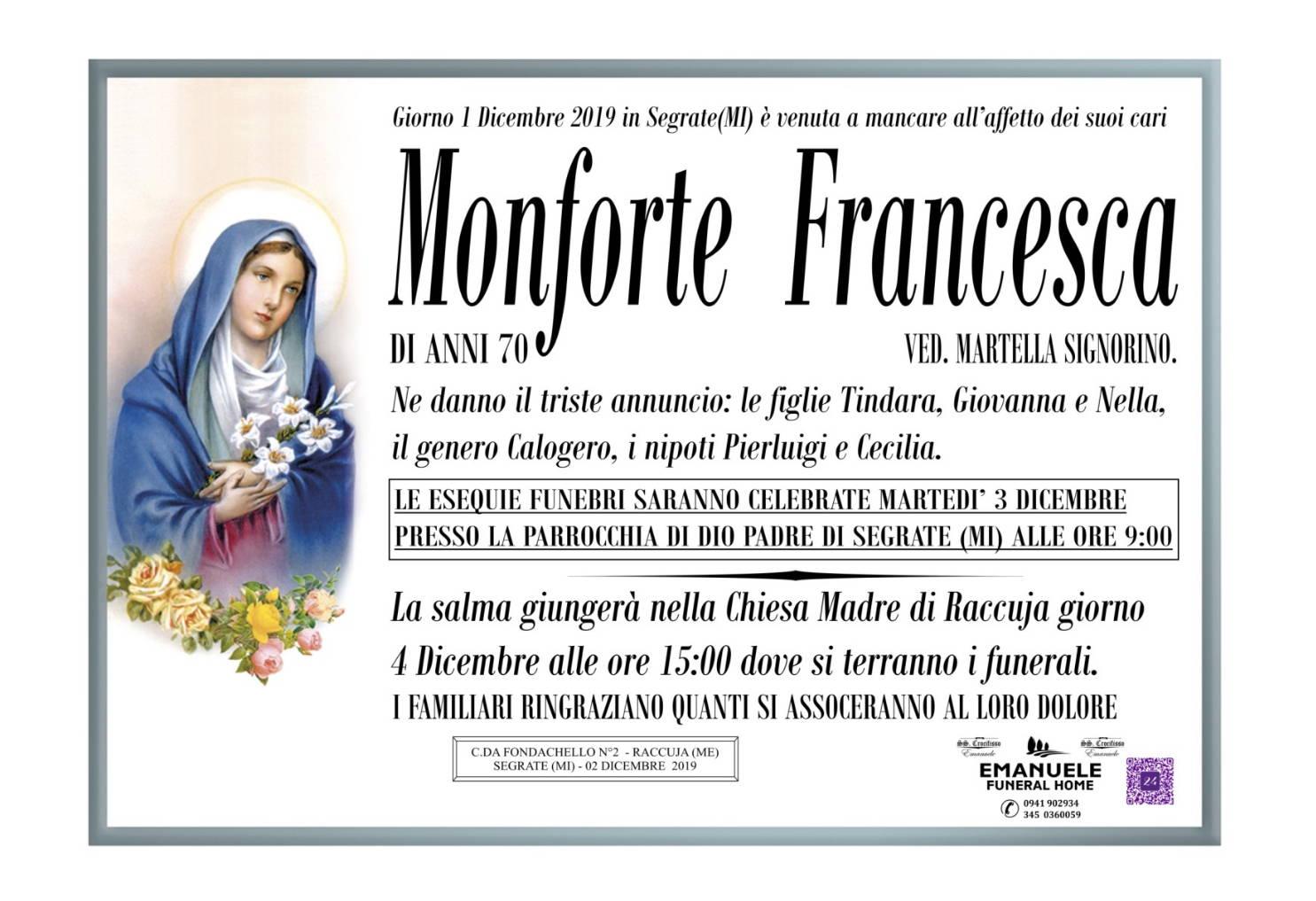 Francesca Monforte