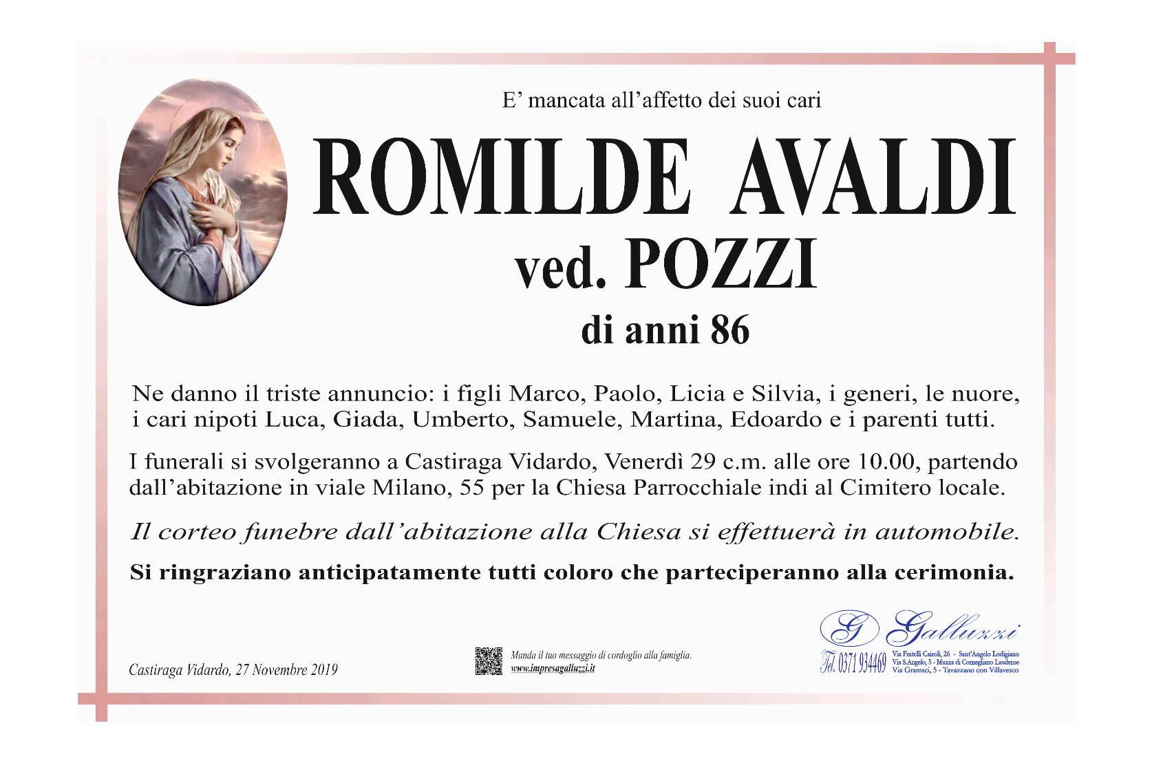 Romilde Avaldi