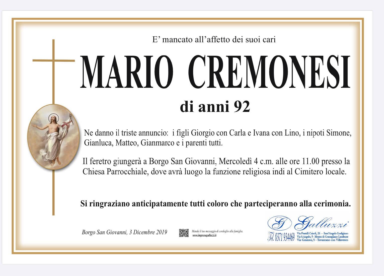 Mario Cremonesi
