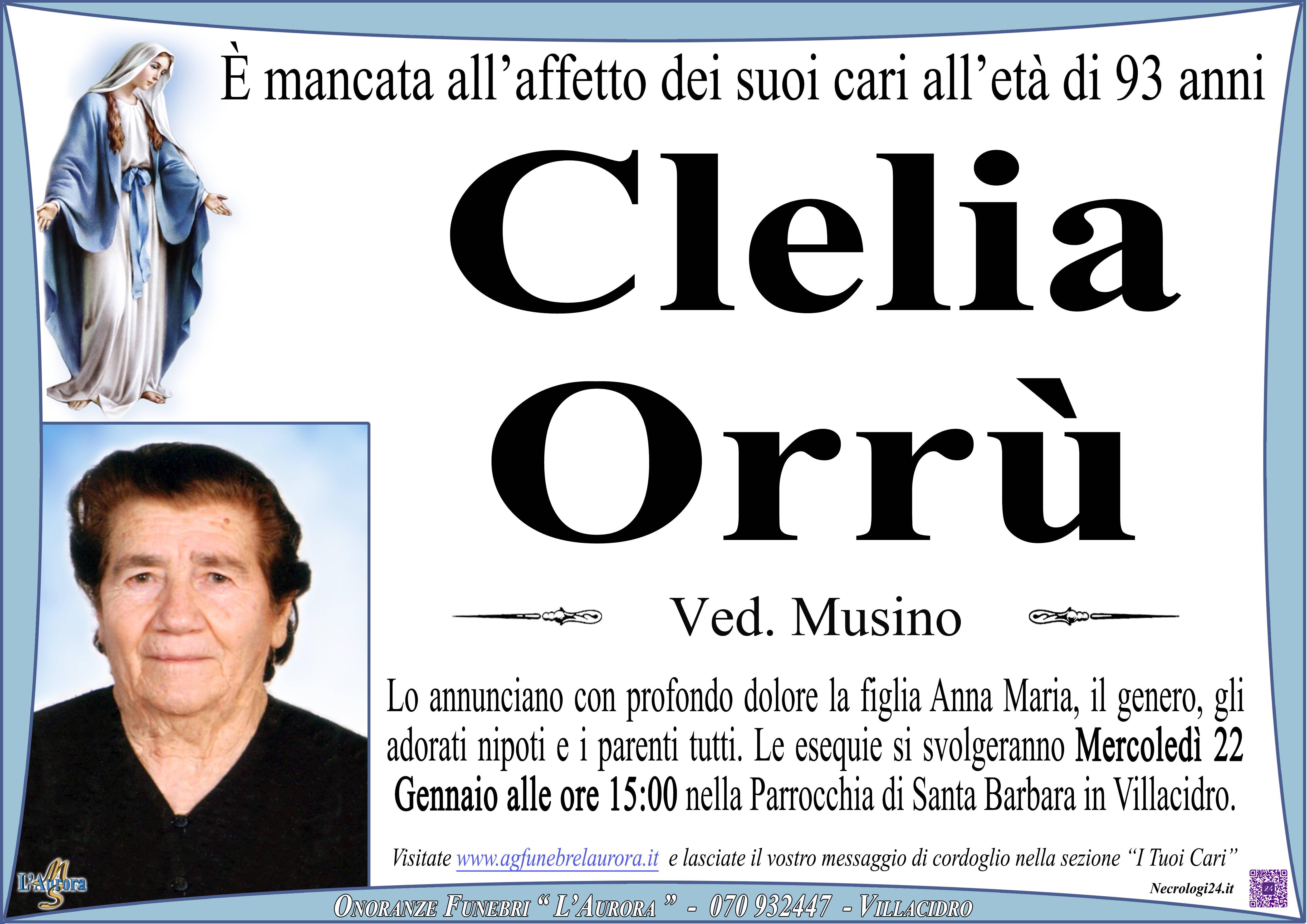 Clelia Orrù