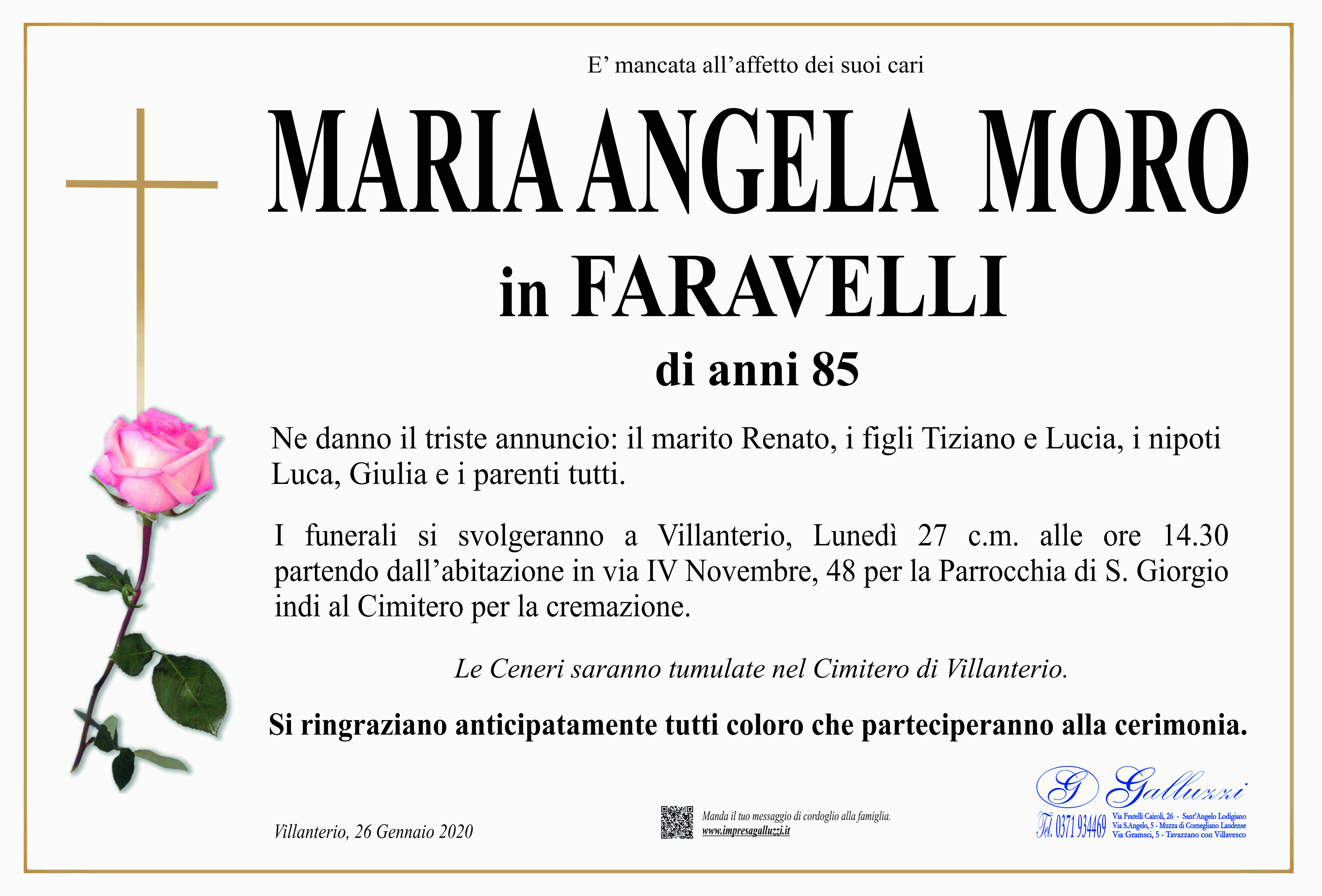 Maria Angela Moro