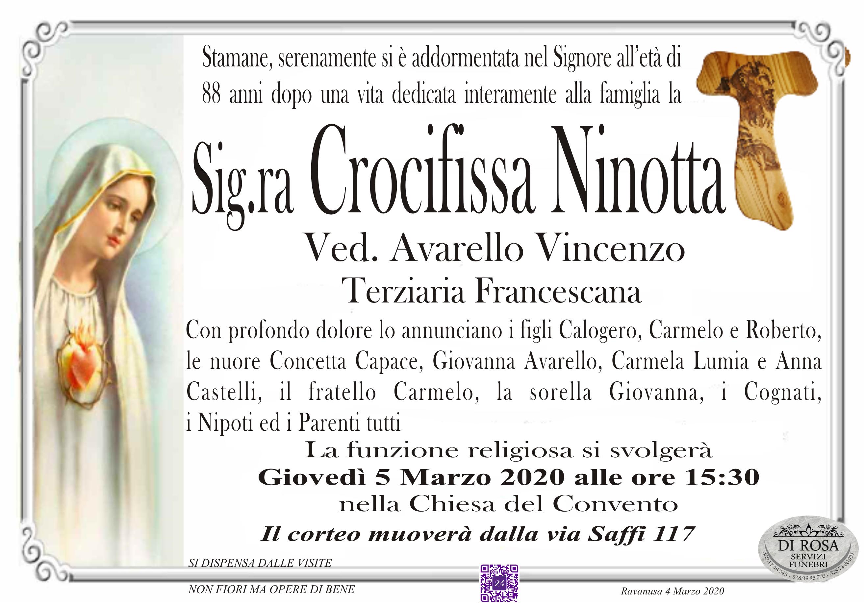 Crocifissa Ninotta