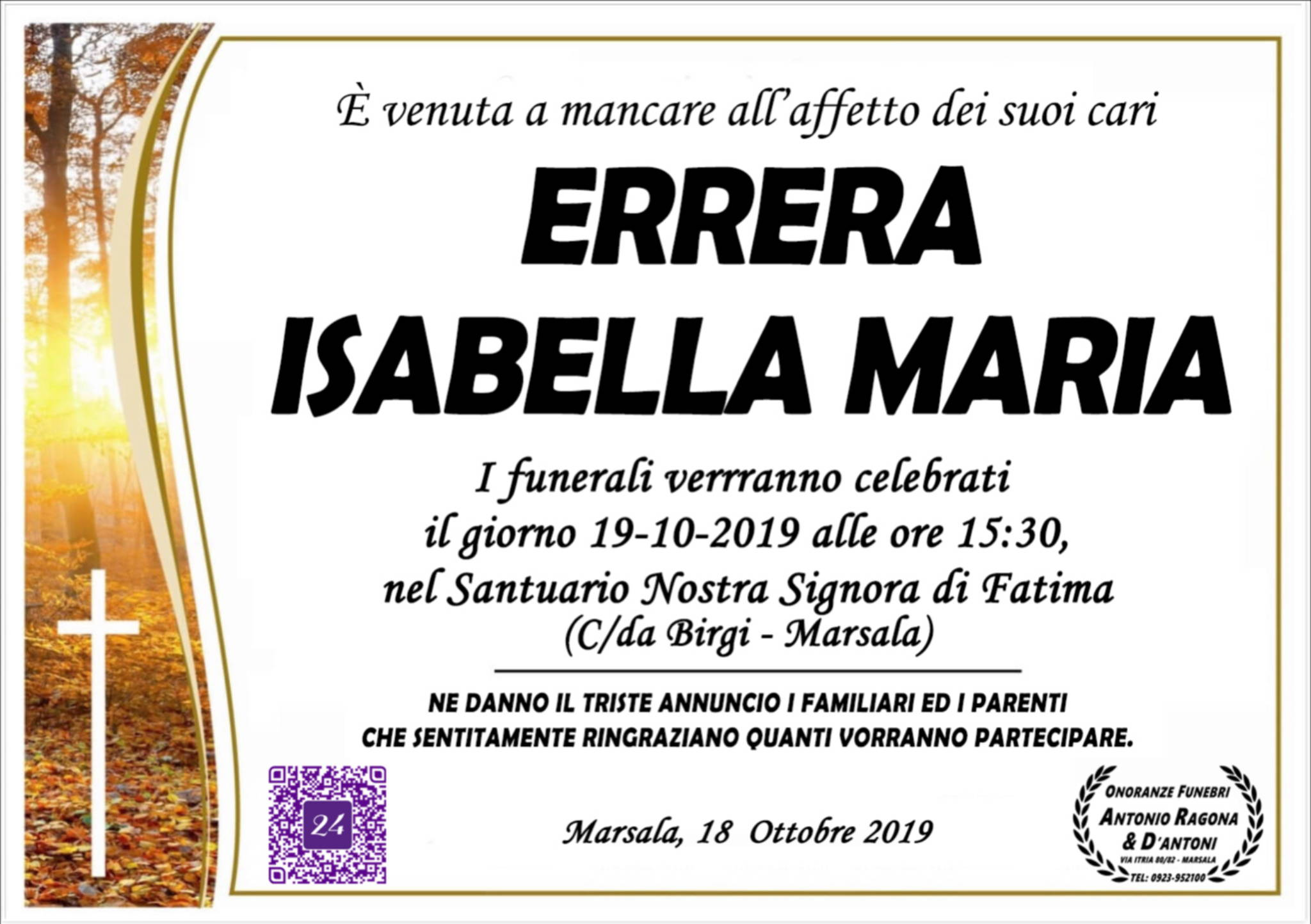 Isabella Maria Errera