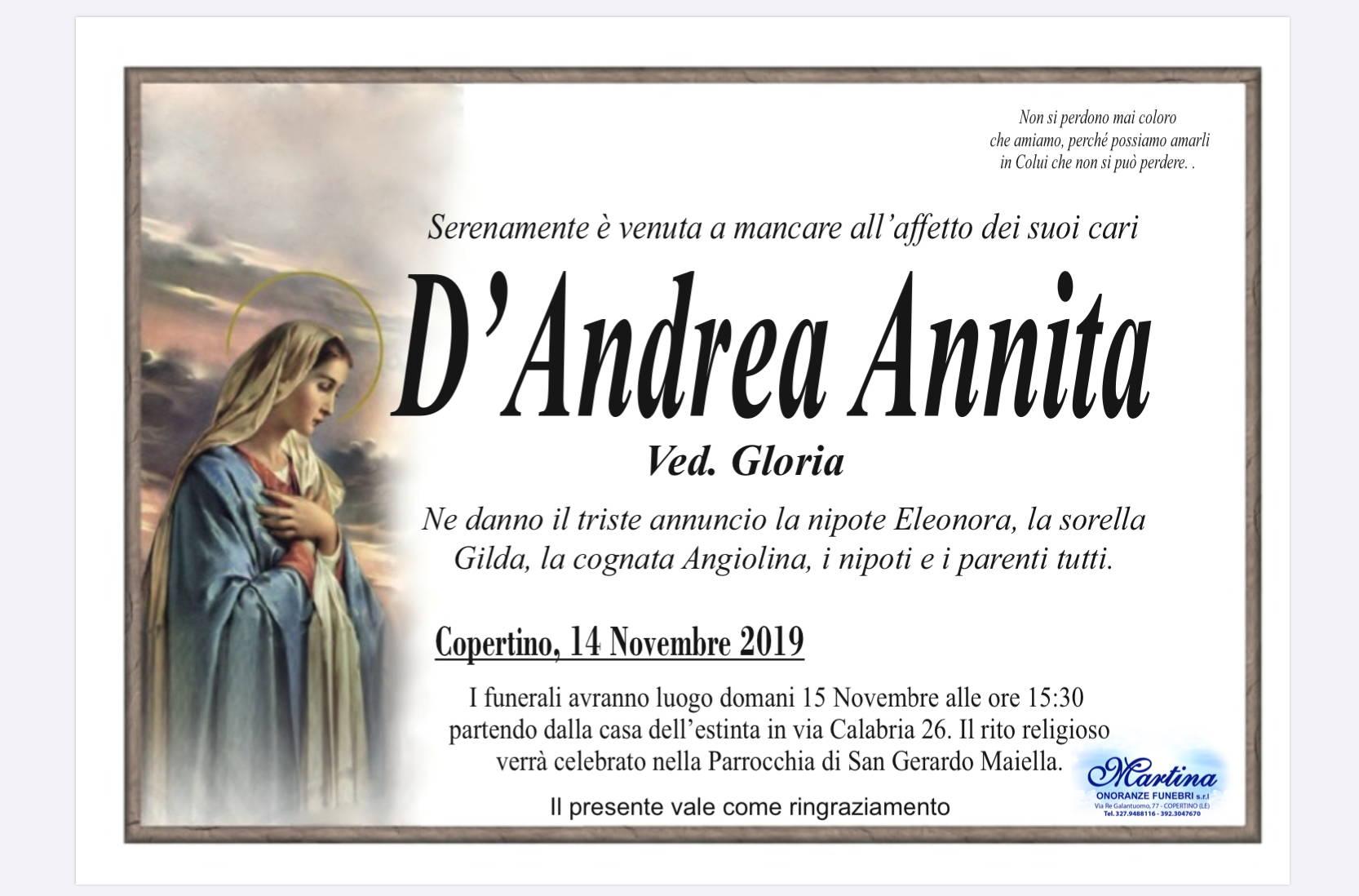 Annita D'Andrea