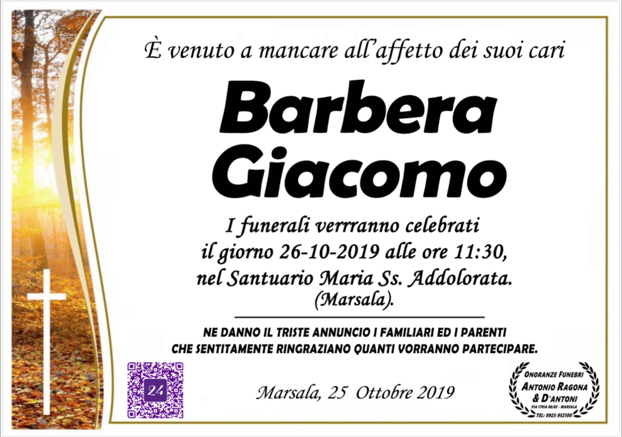 Barbera Giacomo