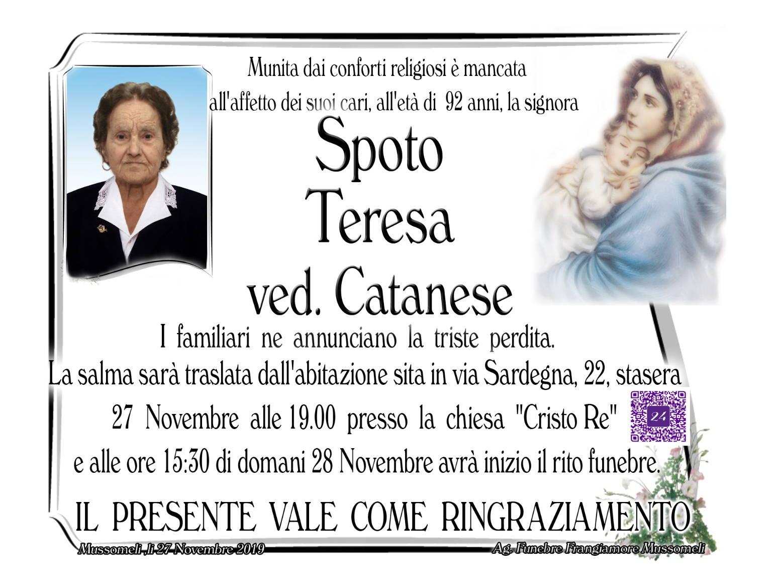 Teresa Spoto