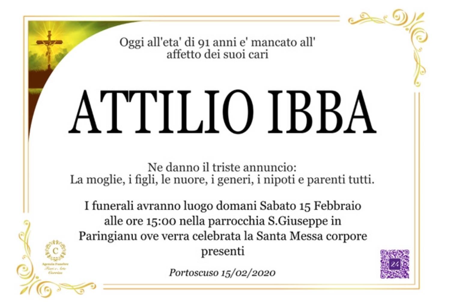 Attilio Ibba
