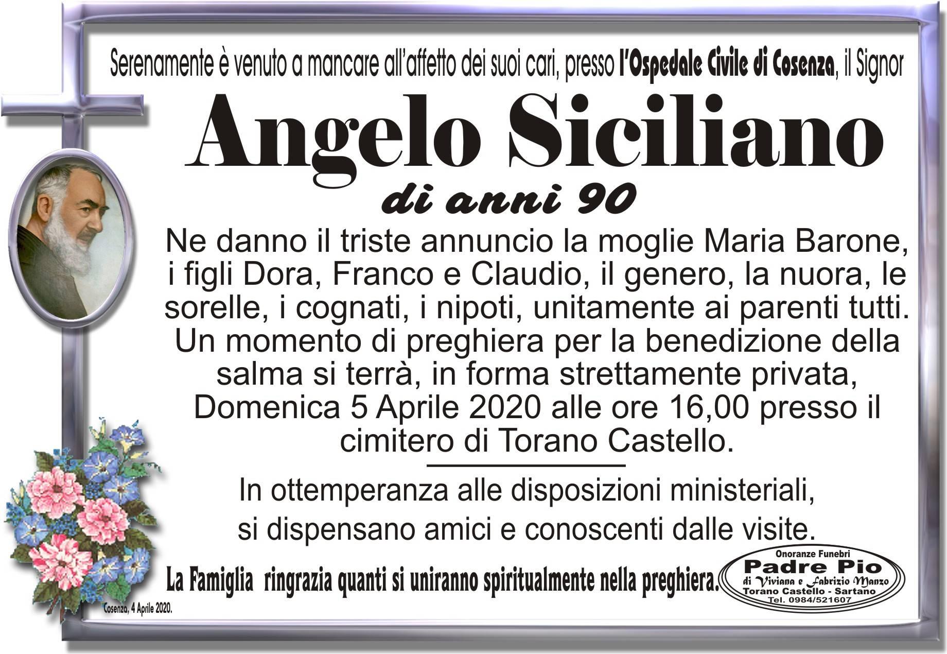 Angelo Siciliano