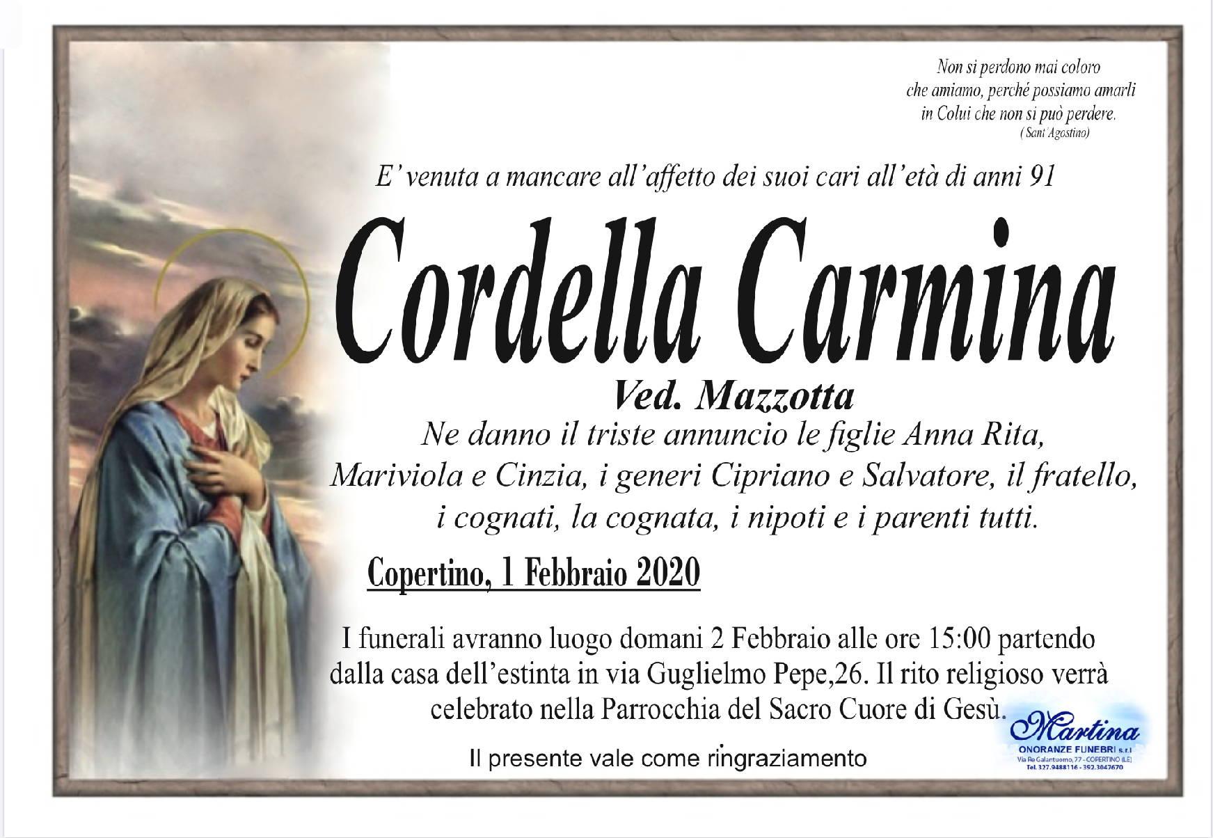 Carmina Cordella