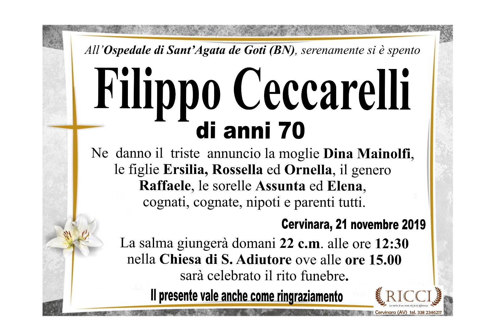 Filippo Ceccarelli
