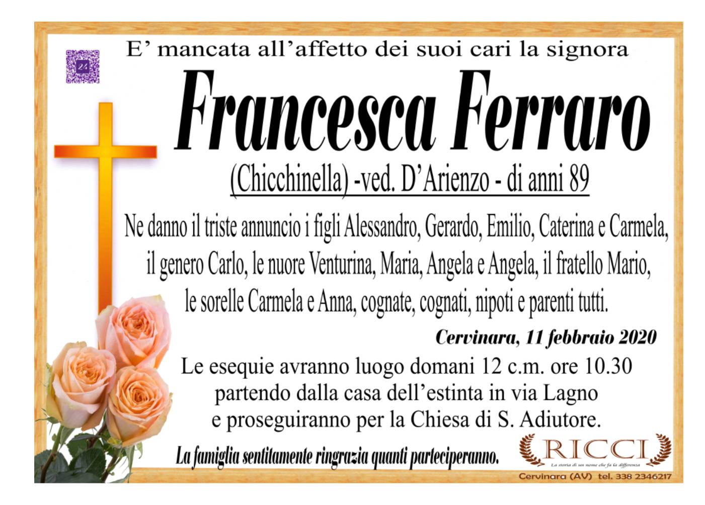 Francesca Ferraro