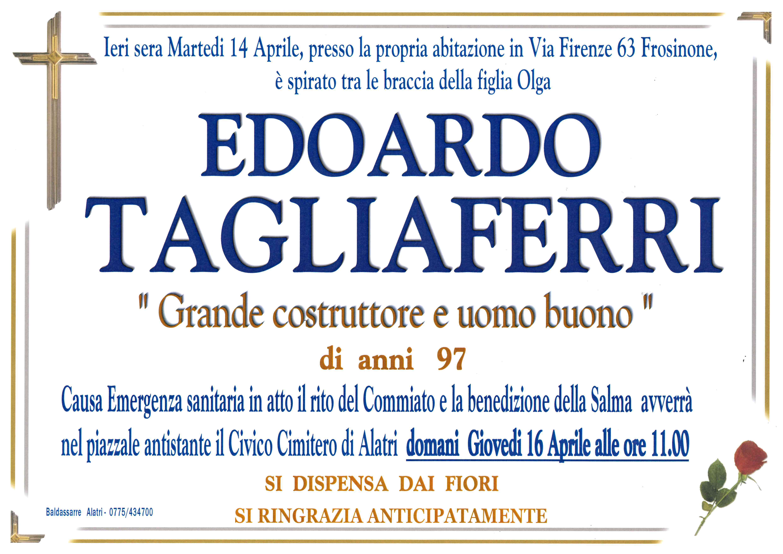 Edoardo Tagliaferri