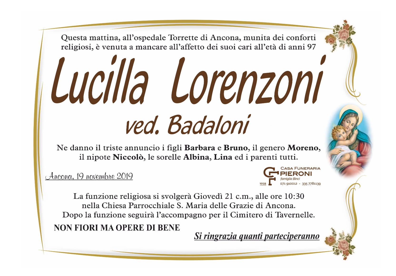 Lucilla Lorenzoni