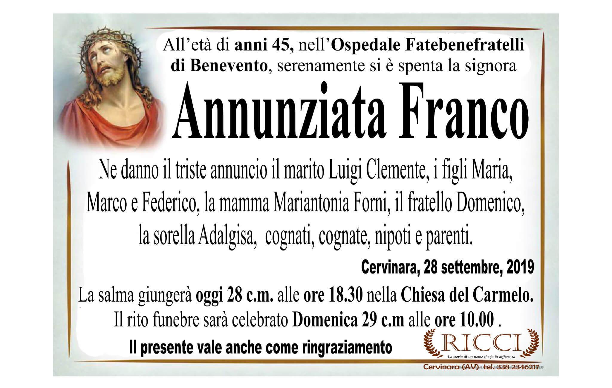 Annunziata Franco