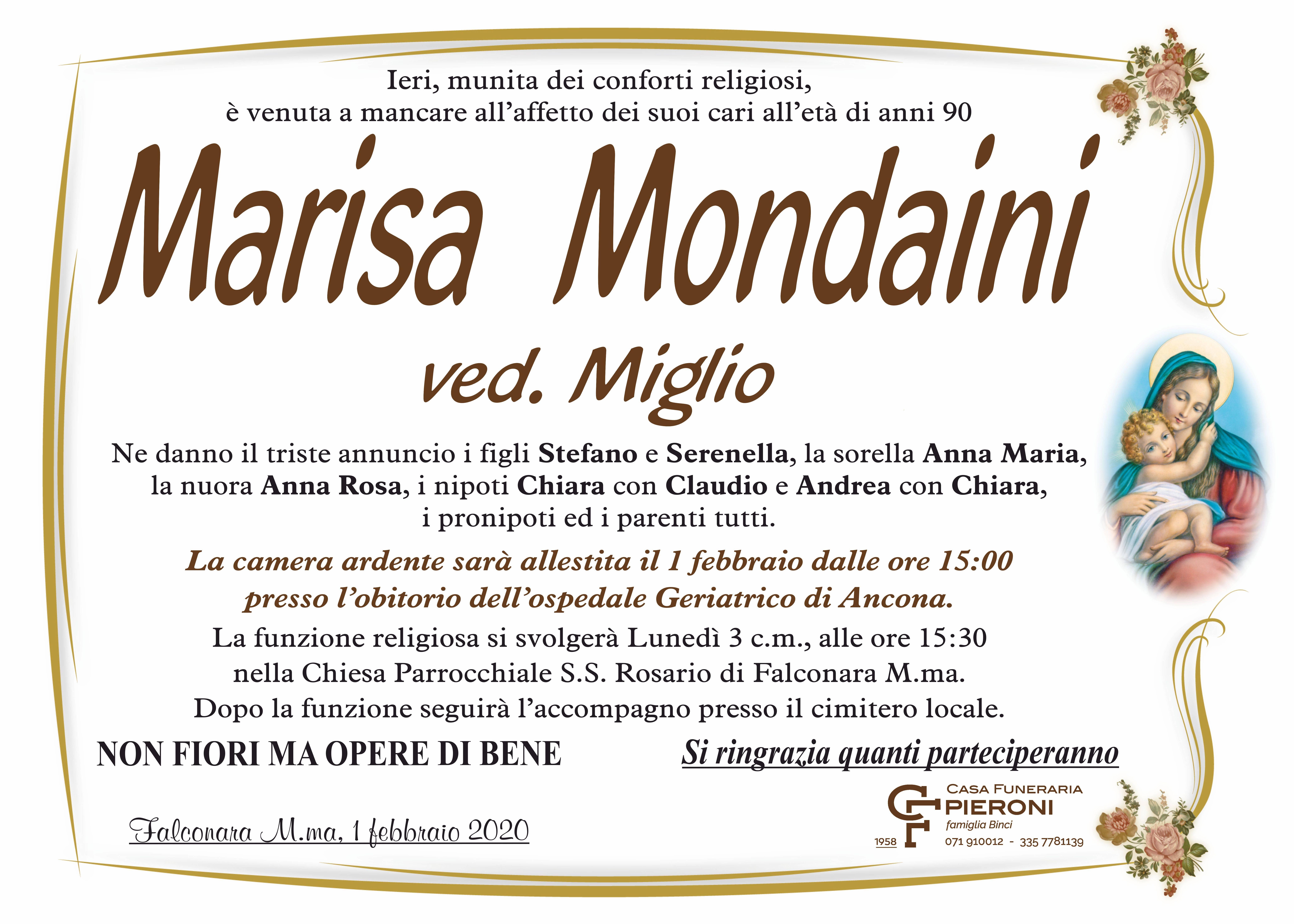 Marisa Mondaini