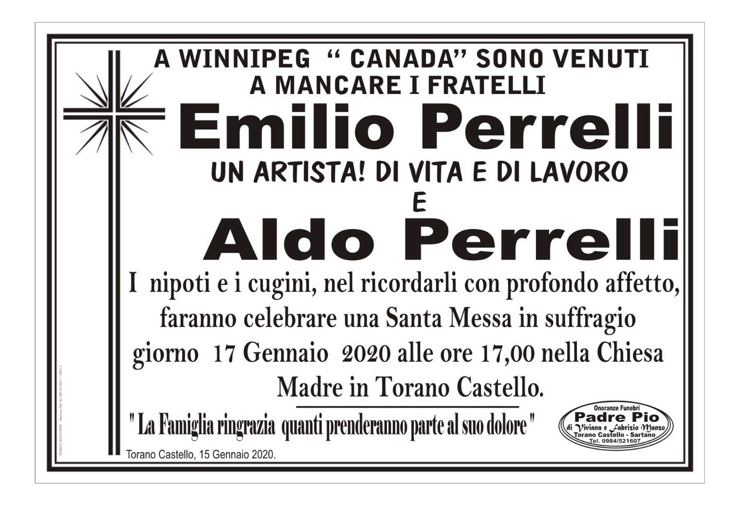 Emilio ed Aldo Perrelli