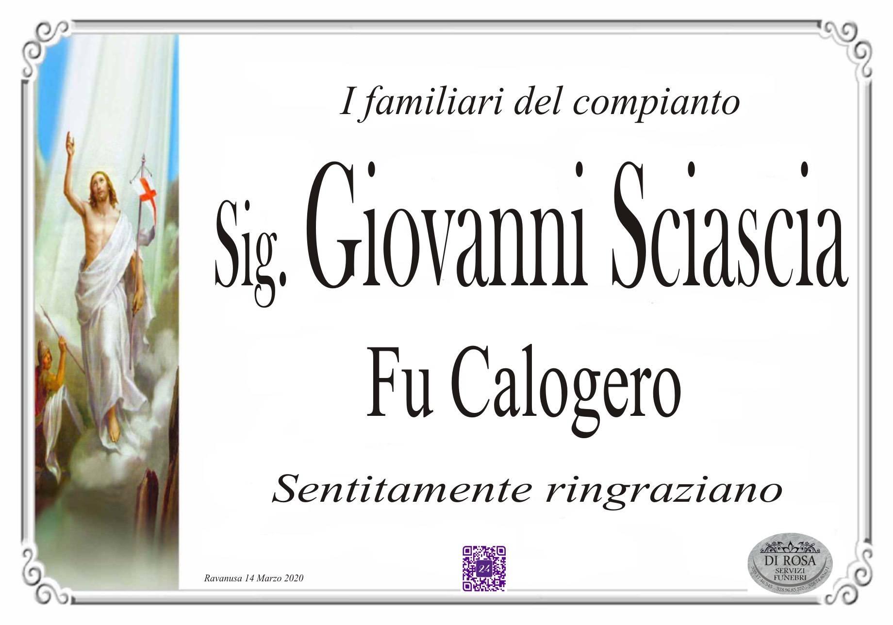 Giovanni Sciascia