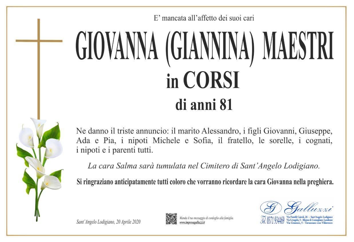 Giovanna Maestri