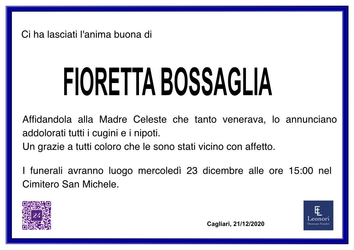 Fioretta Bossaglia