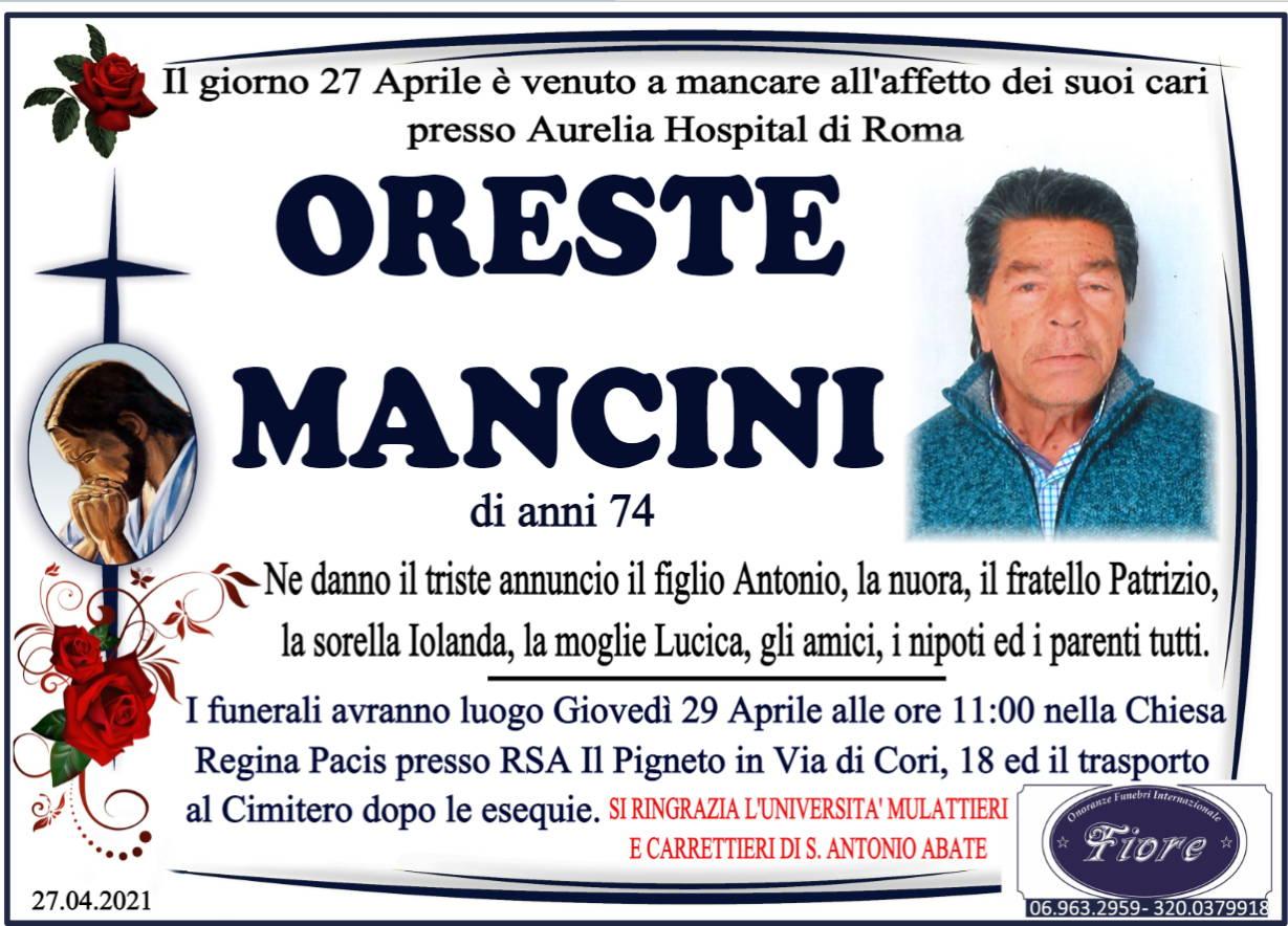 Oreste Mancini