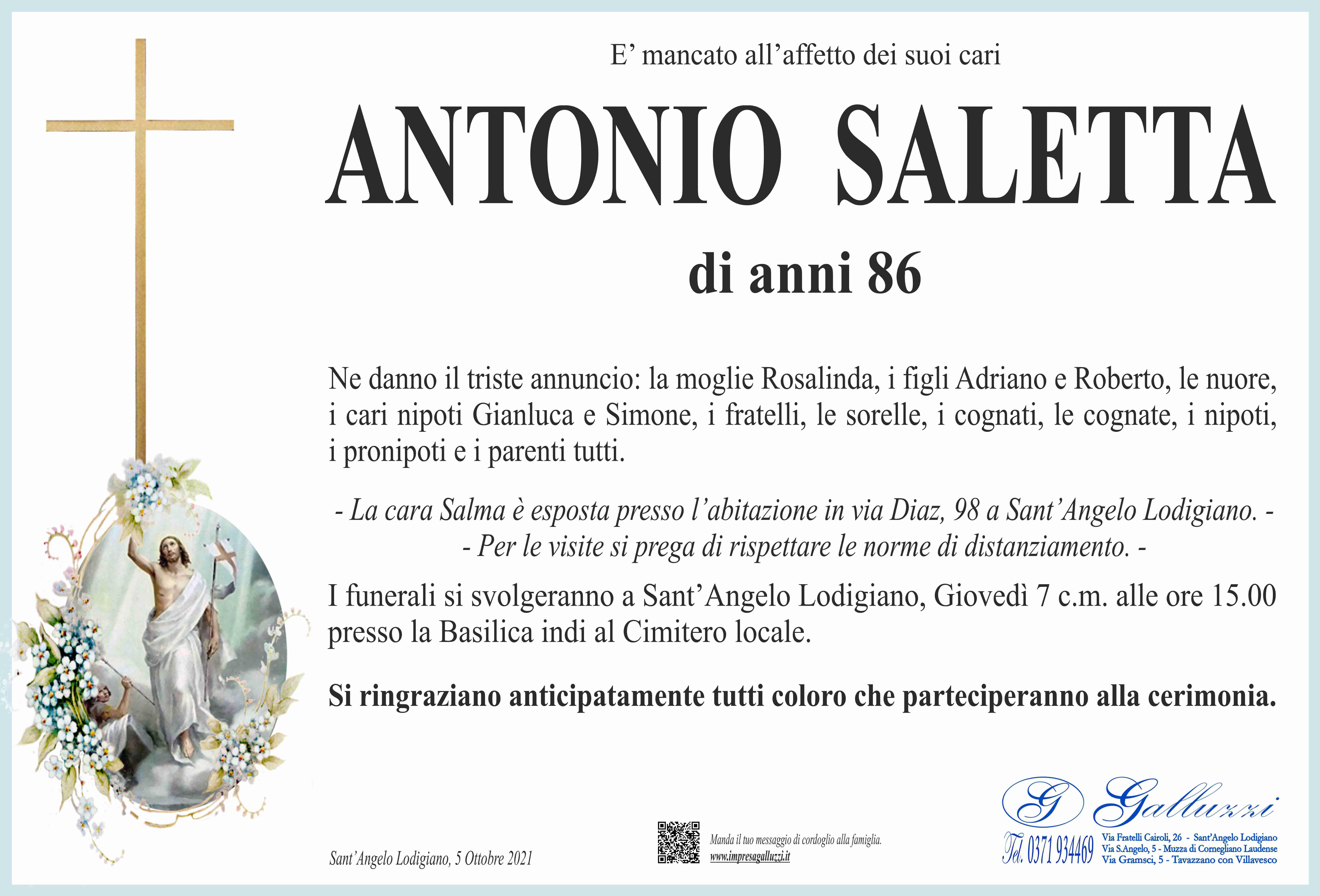 Antonio Saletta