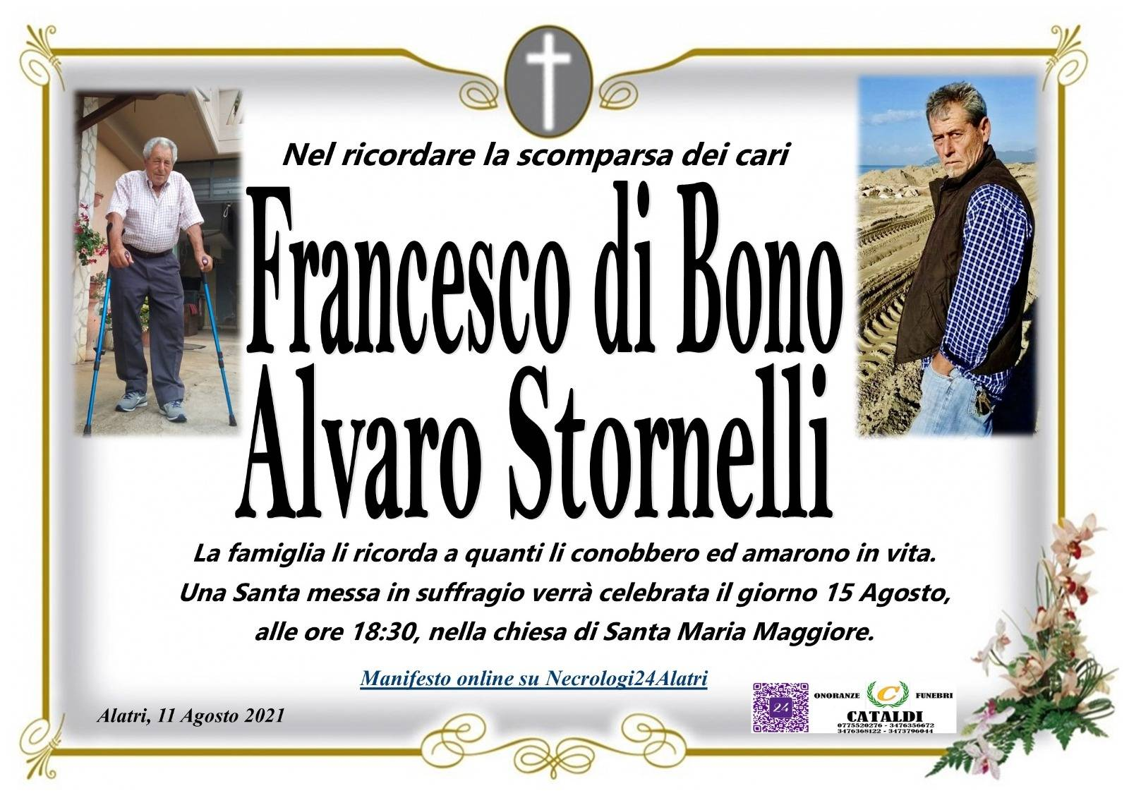 Francesco Di Bono e Alvaro Stornelli