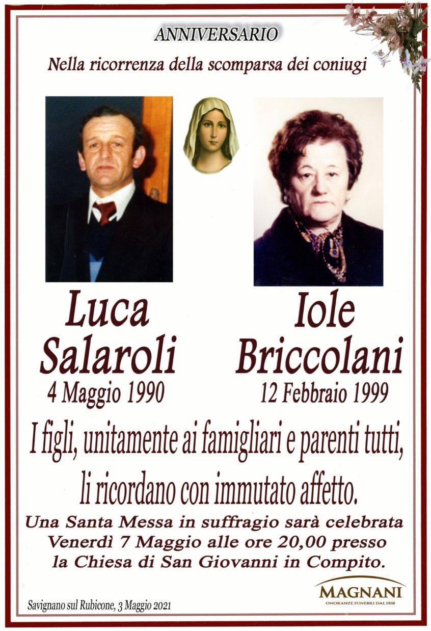 Luca Salaroli e Iole Briccolani