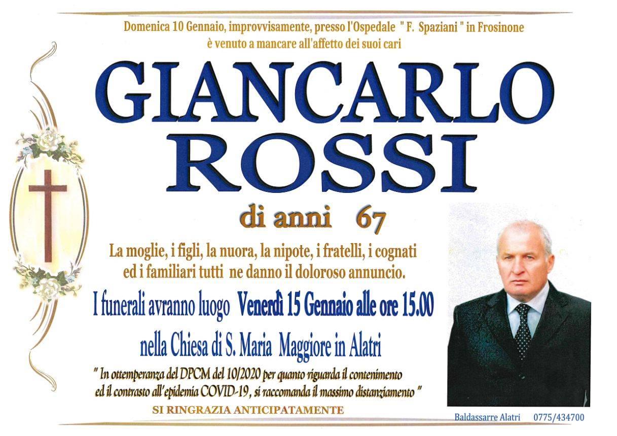 Giancarlo Rossi