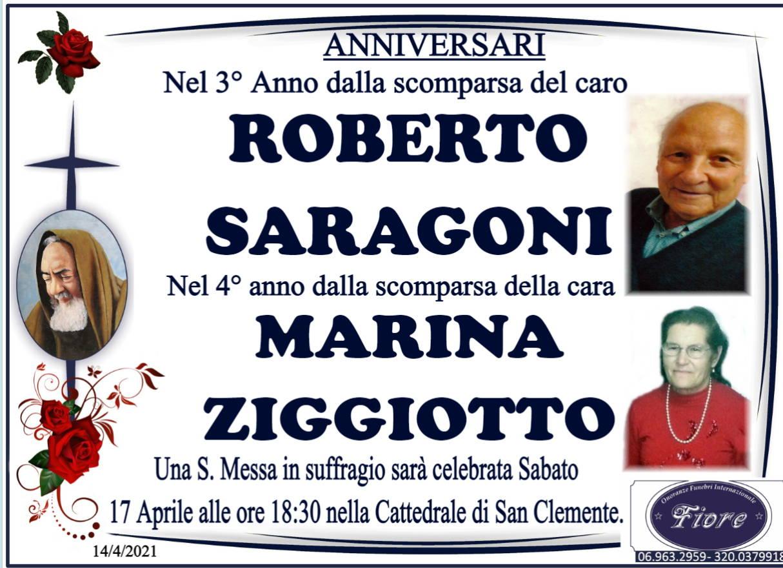 Roberto Saragoni e Marina Ziggiotto