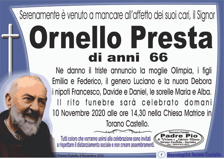 Ornello Presta