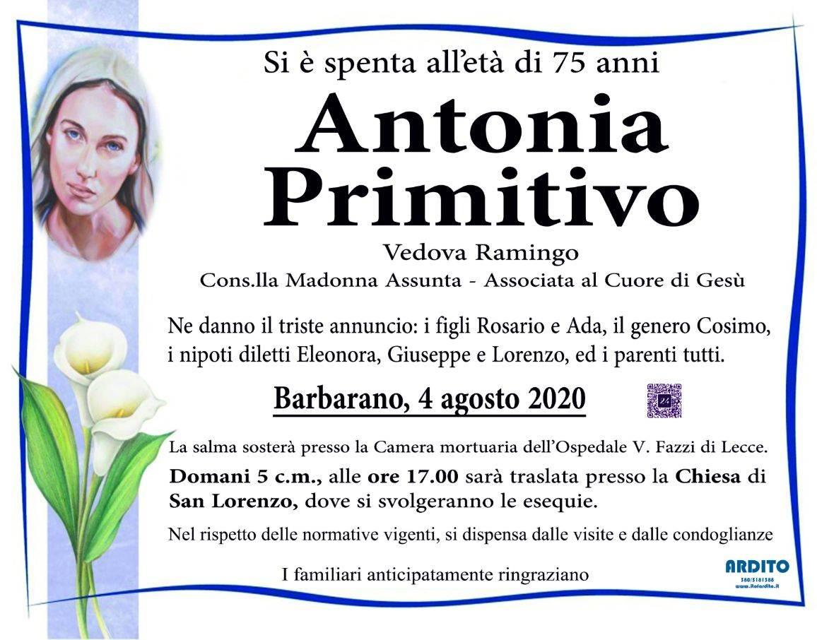 Antonia Primitivo
