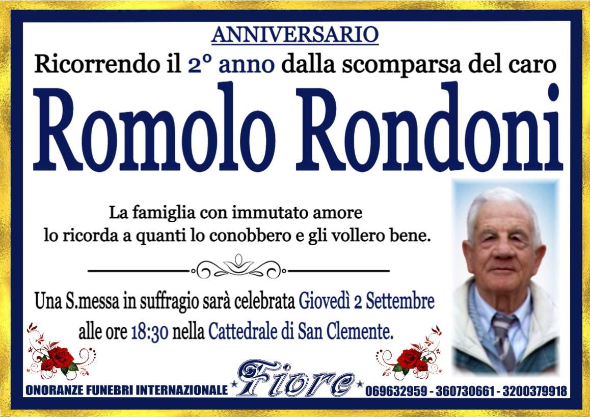 Romolo Rondoni