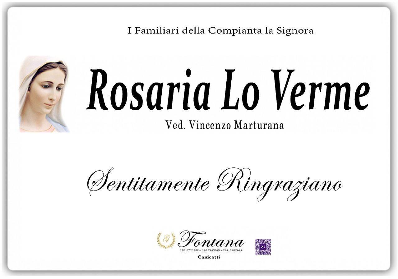 Rosaria Lo Verme