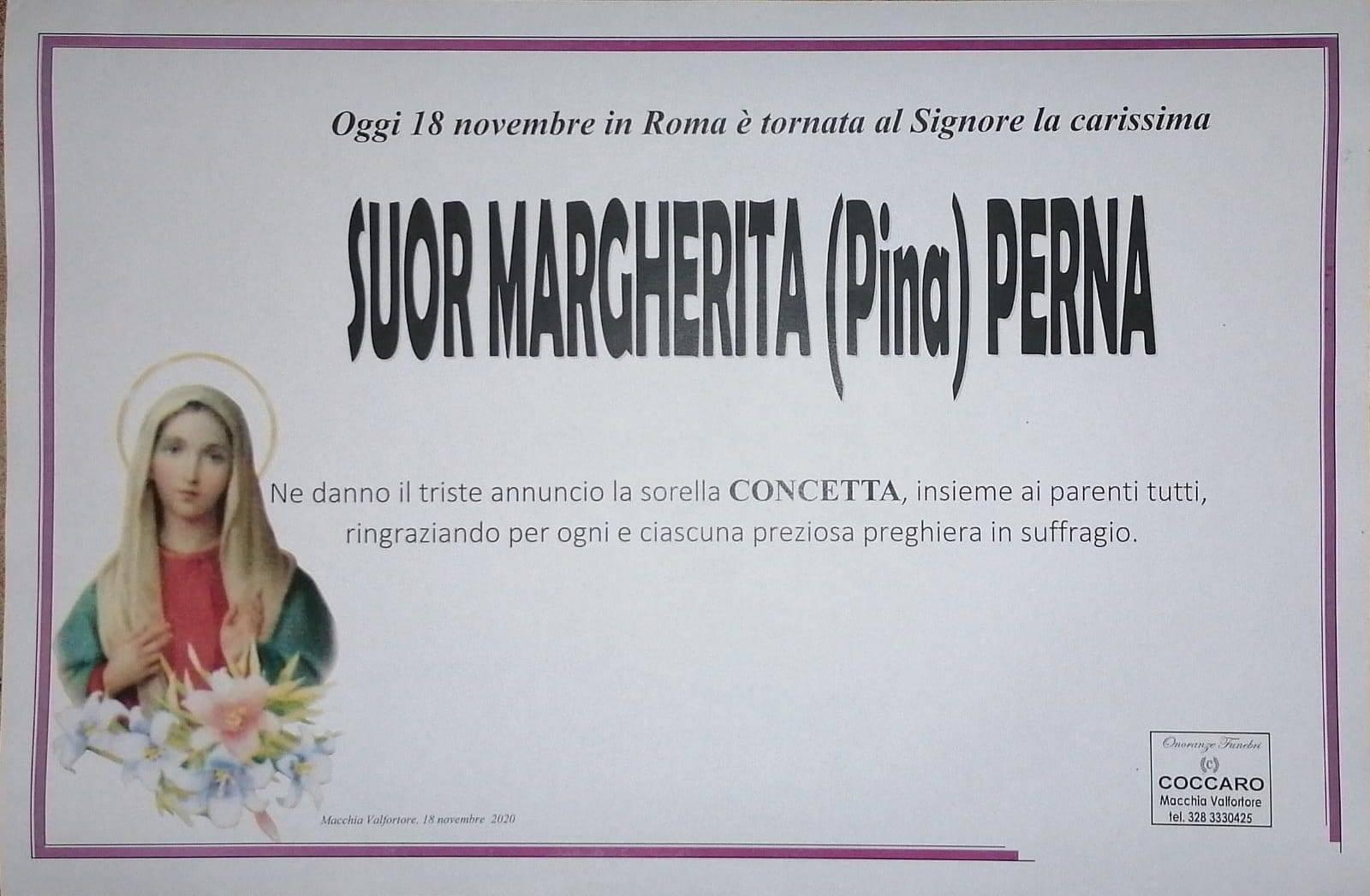 Suor Margherita Perna