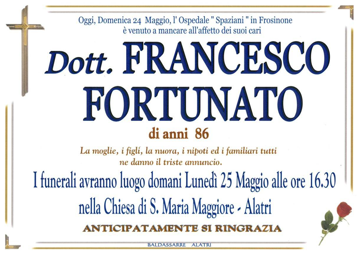 Francesco Fortunato