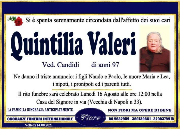 Quintilia Valeri