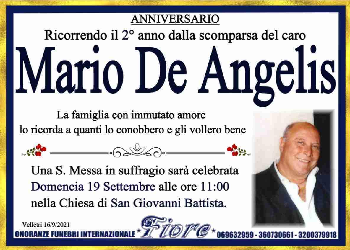 Mario De Angelis