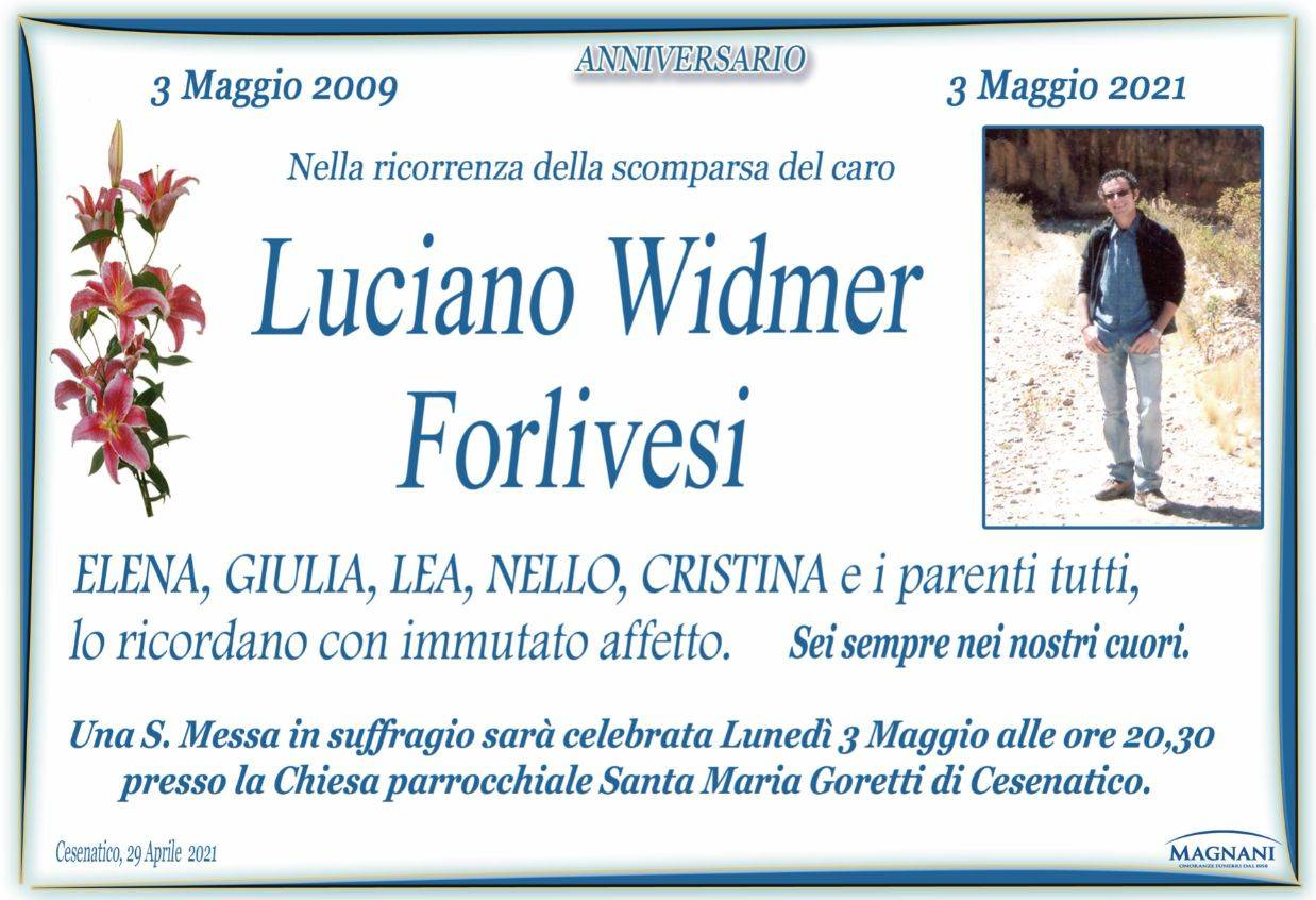 Luciano Widmer Forlivesi