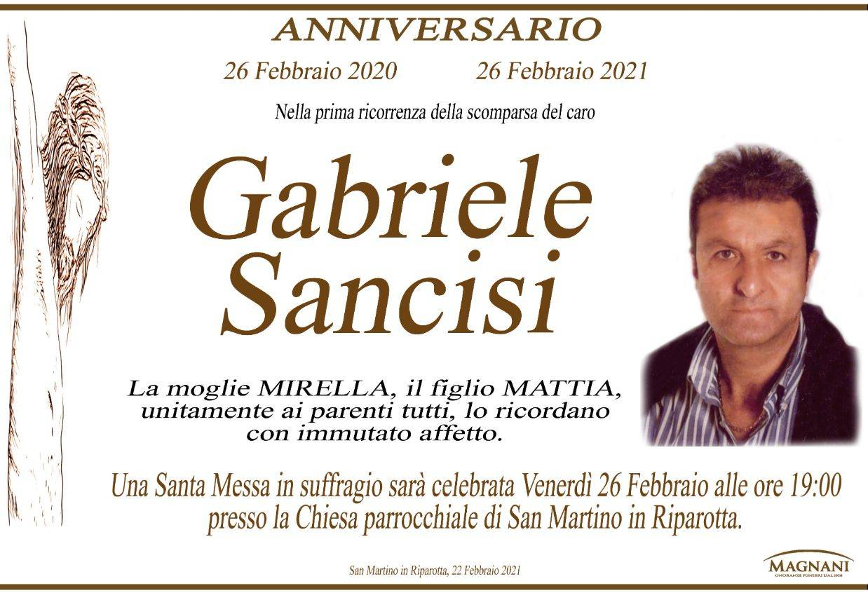 Gabriele Sancisi